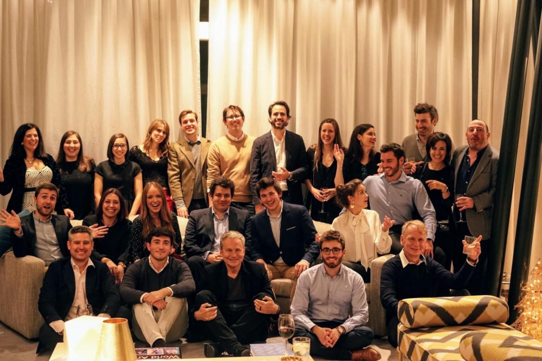 Imagen del equipo de Overture, liderado por Martín Varsavsky.