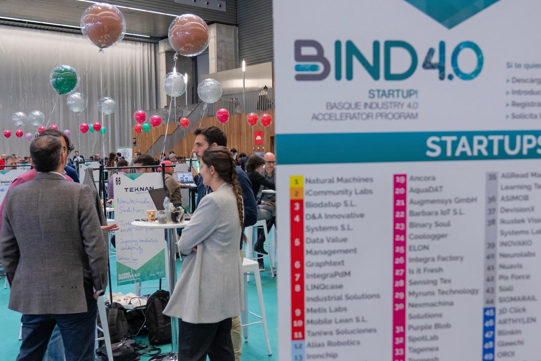 Evento organizado por la plataforma vasca Bind 4.0.