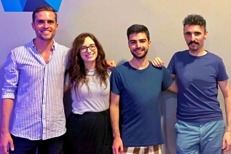 Equipo fundador de la startup vasca Berba Tanslations.