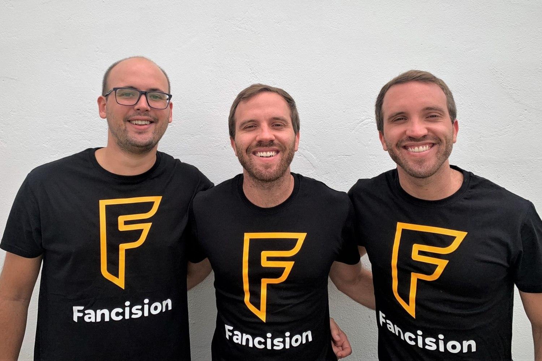 Equipo fundador de la startup sevillana Fancision.