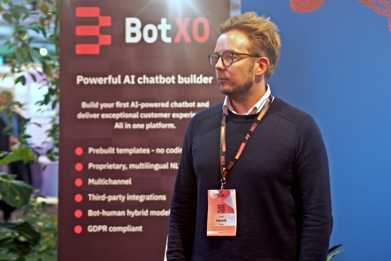 Henrik Fabrin, CEO de la startups BotXO.