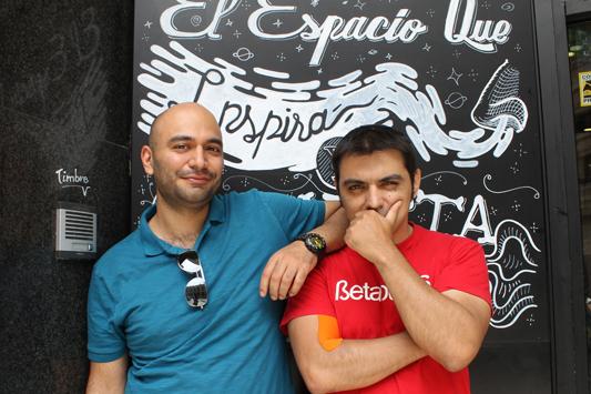 Kayvan Nikjou y Alex Andreu