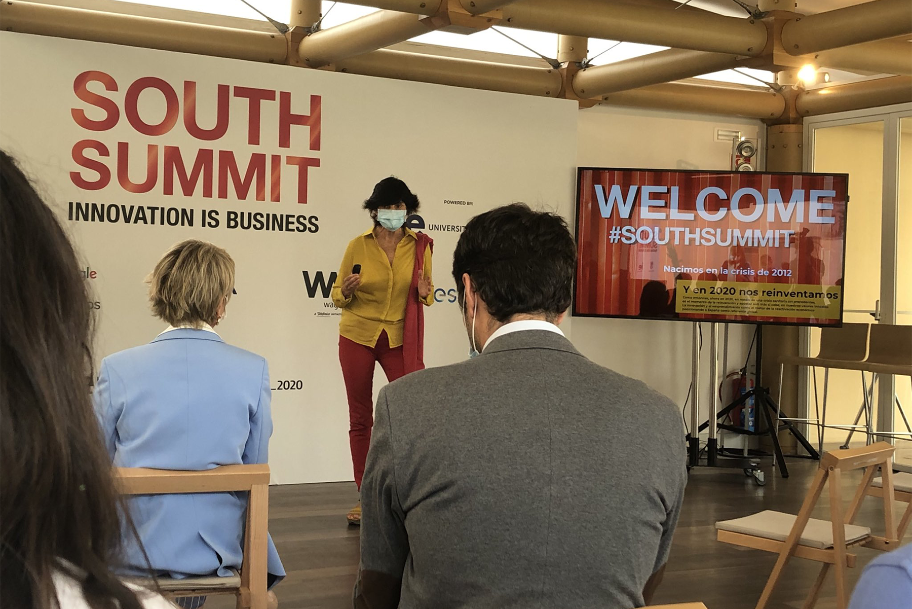 Maria_Benjumea fundadora de South Summit