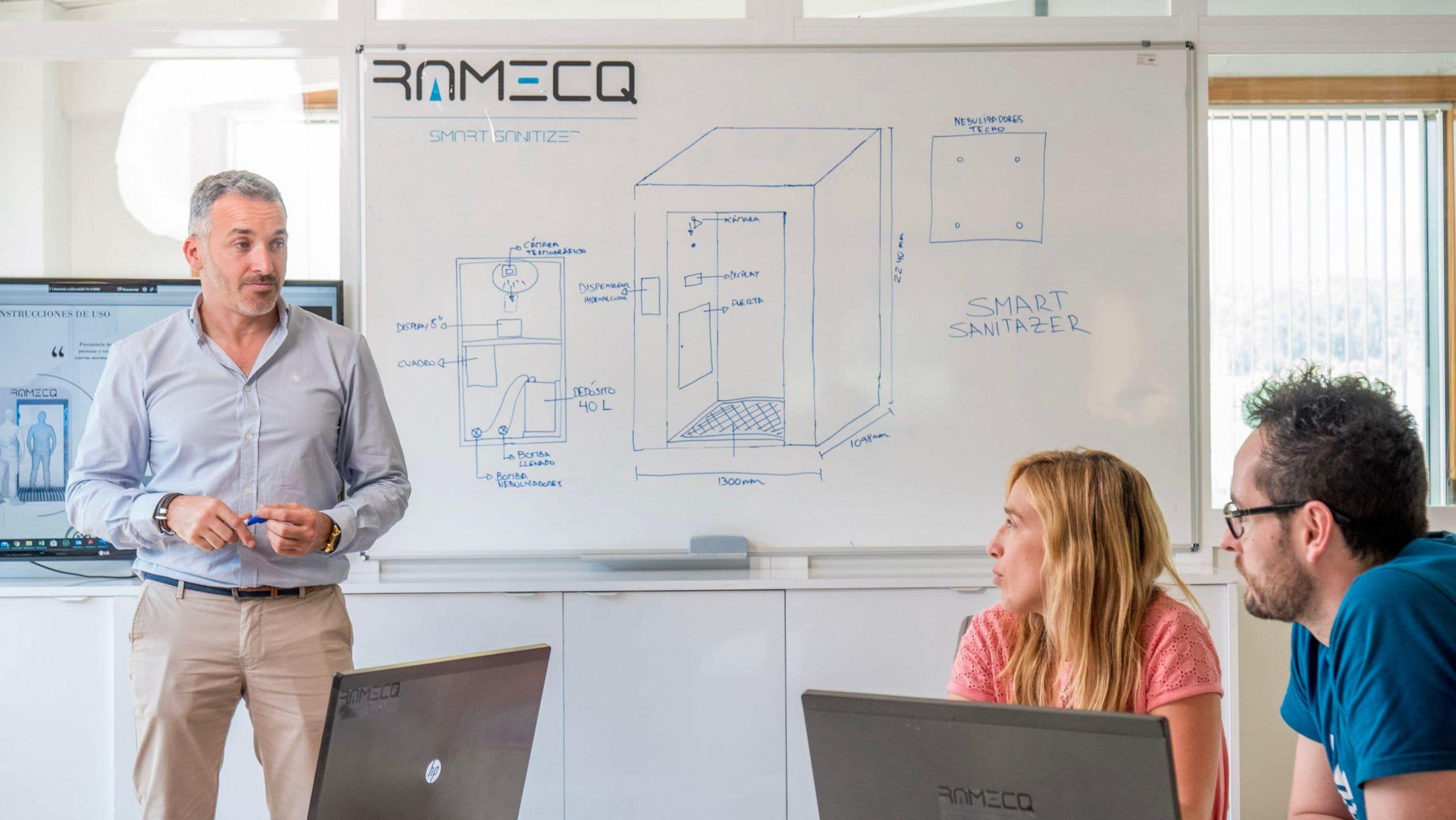 Ramecq, la startup que da soluciones a la covid19