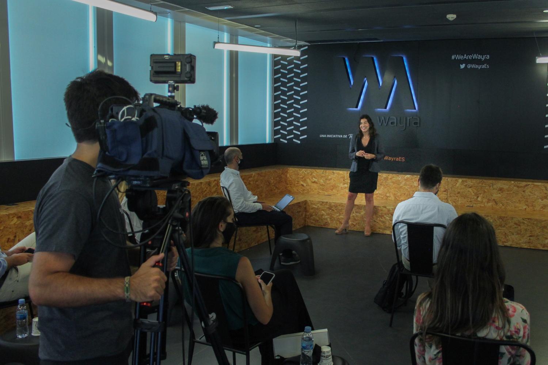 Evento Wayra impulsa programa blockchain reúne 150 inversores