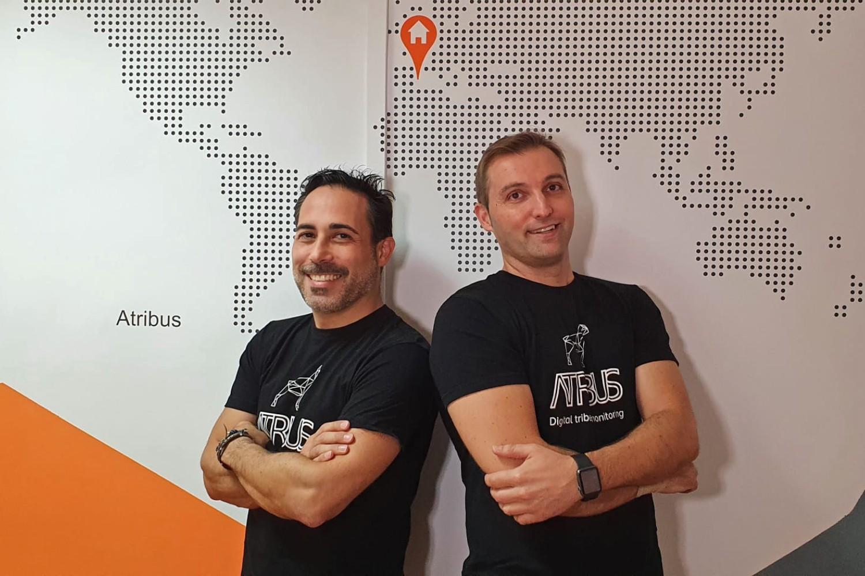 Equipo directivo de la startup valenciana Atribus.