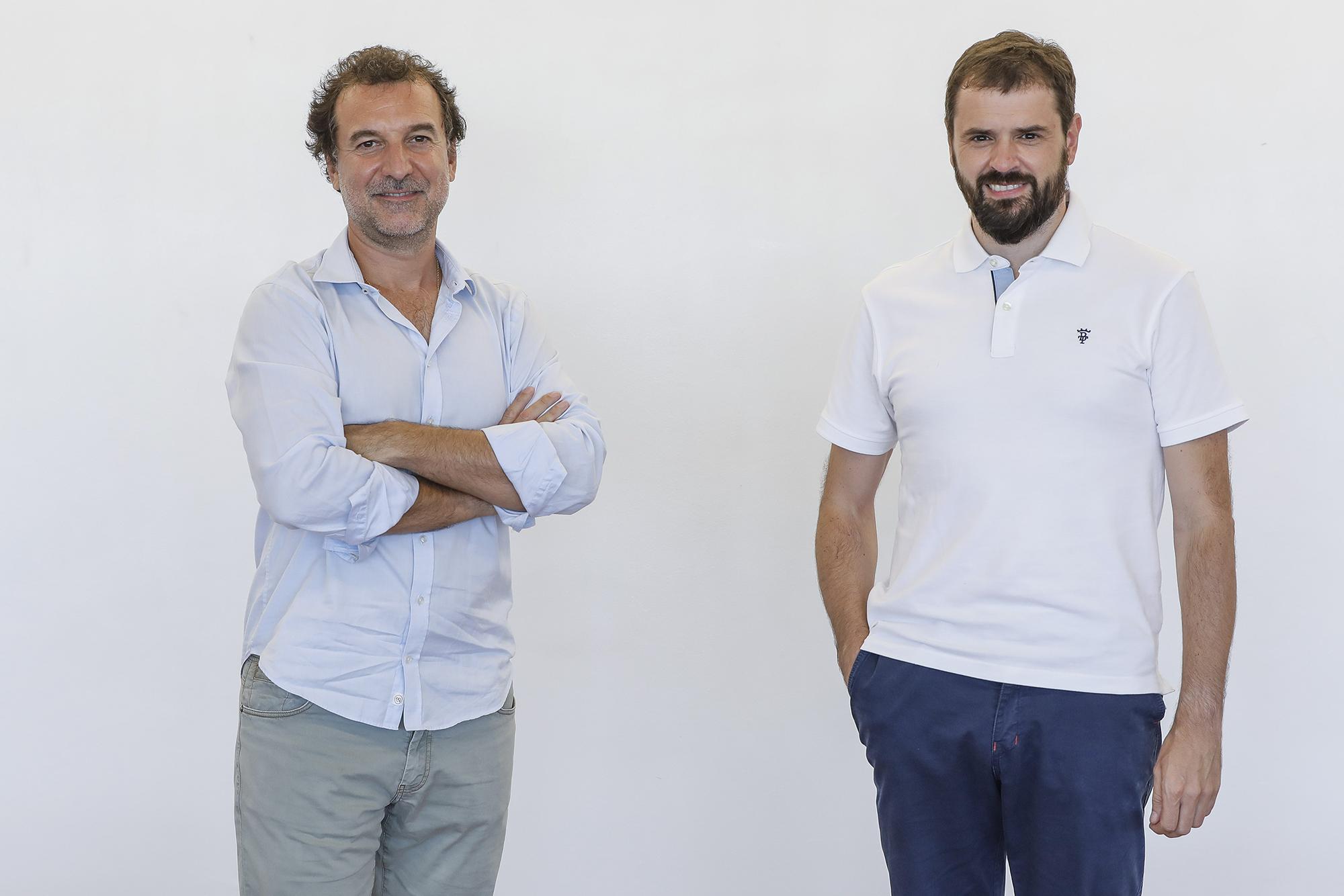 Fernando Cabello-Astolfi y Alberto Molpeceres, fundadores de la app Devengo.