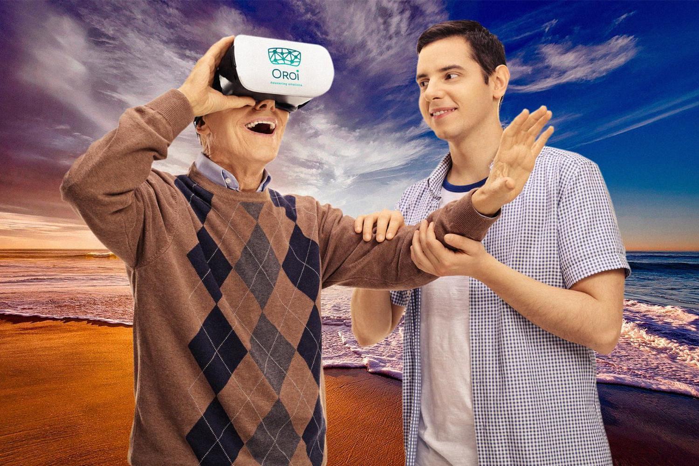 Oroi, startup de realidad virtual para personas mayores.