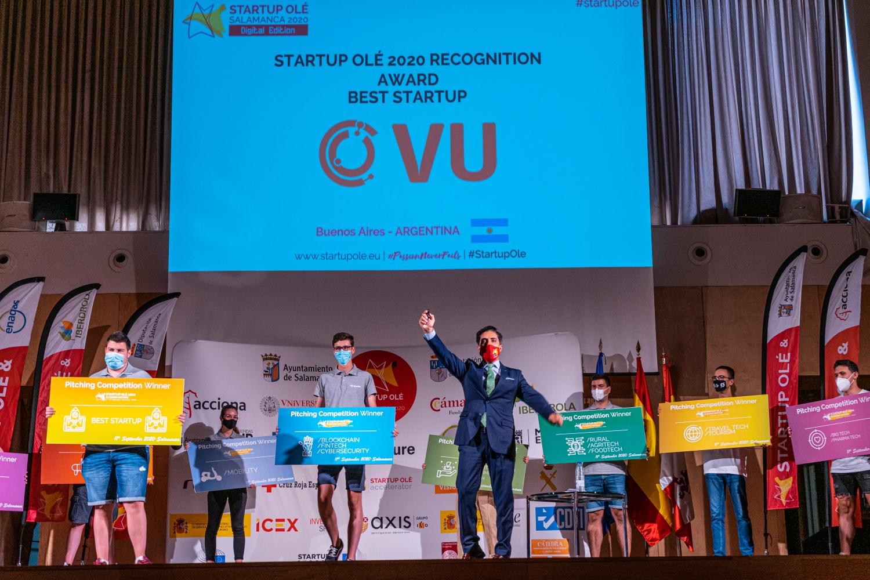 Startup OLÉ premios y competición Pitch