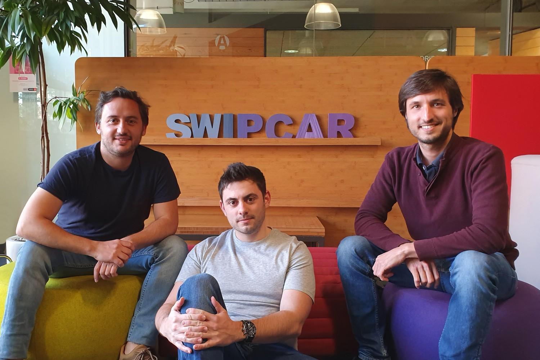 Imagen de los fundadores del marketplace Swipcar.