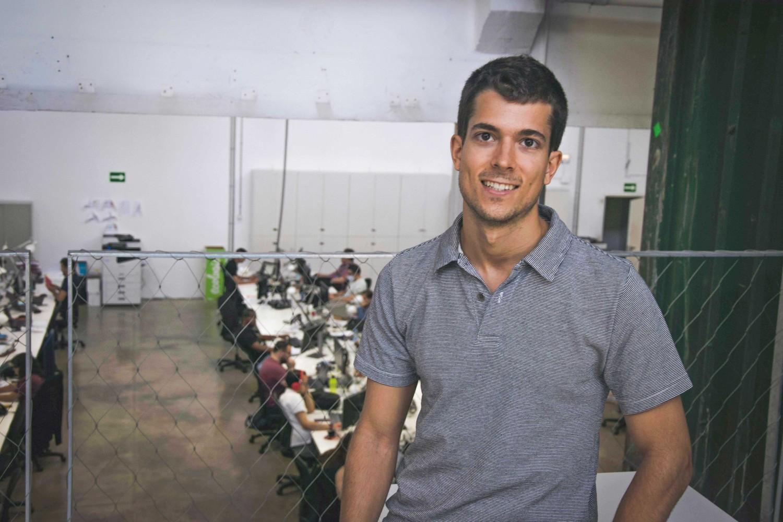 Jan Amat, fundador y CEO de Traspacar.