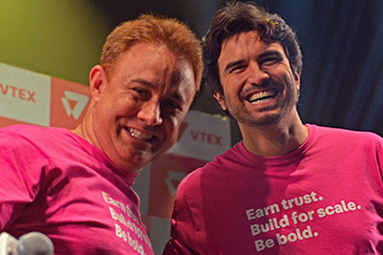 Geraldo Thomaz y Mariano Gomide, fundadores de VTEX.