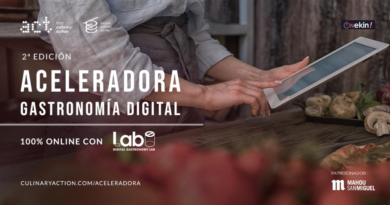 Nueva edición Culinary Action objetivo digitalización restaurantes