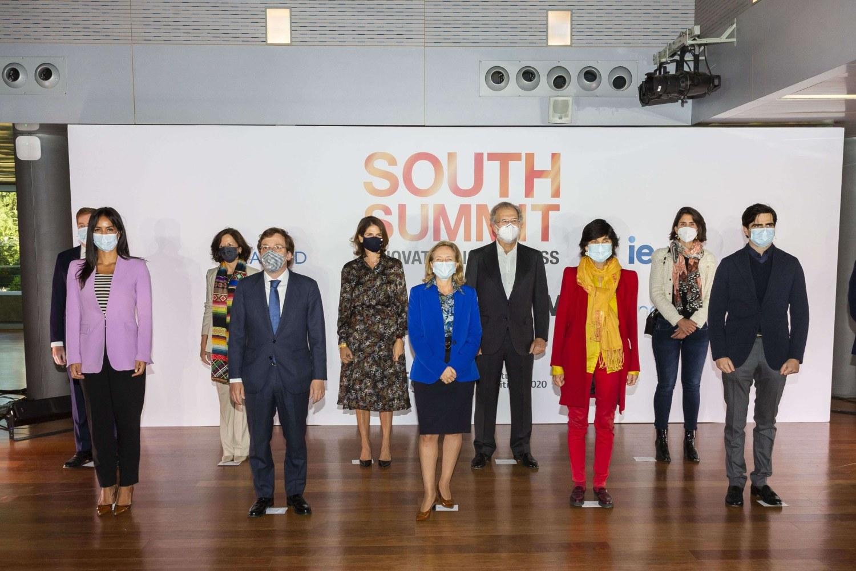 Foto de la inauguración del South Summit 2020.