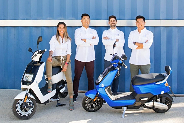 Equipo fundador de la startup NEXT Electric Motors.