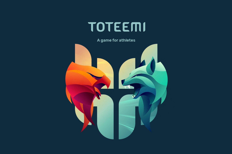 Logo de la app deportiva Toteemi.