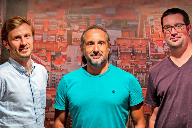 Fundadores de la startup catalana AllRead MLT.