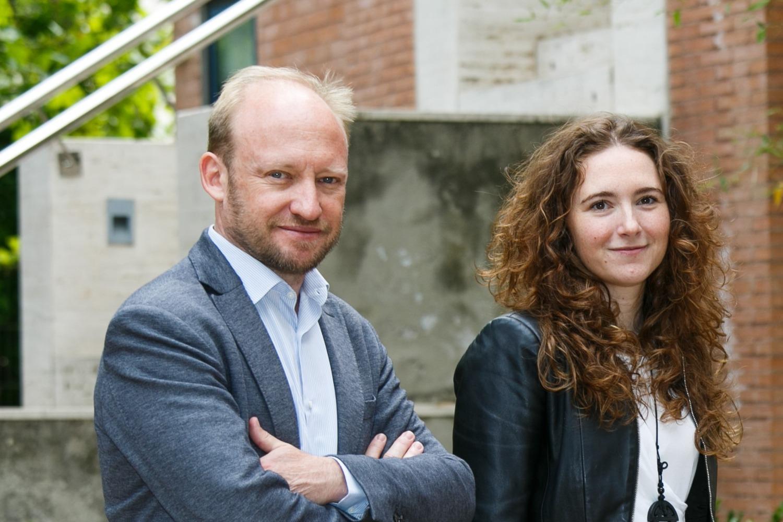 David Segarra y María Eugenia, fundadores de aptaTargets.