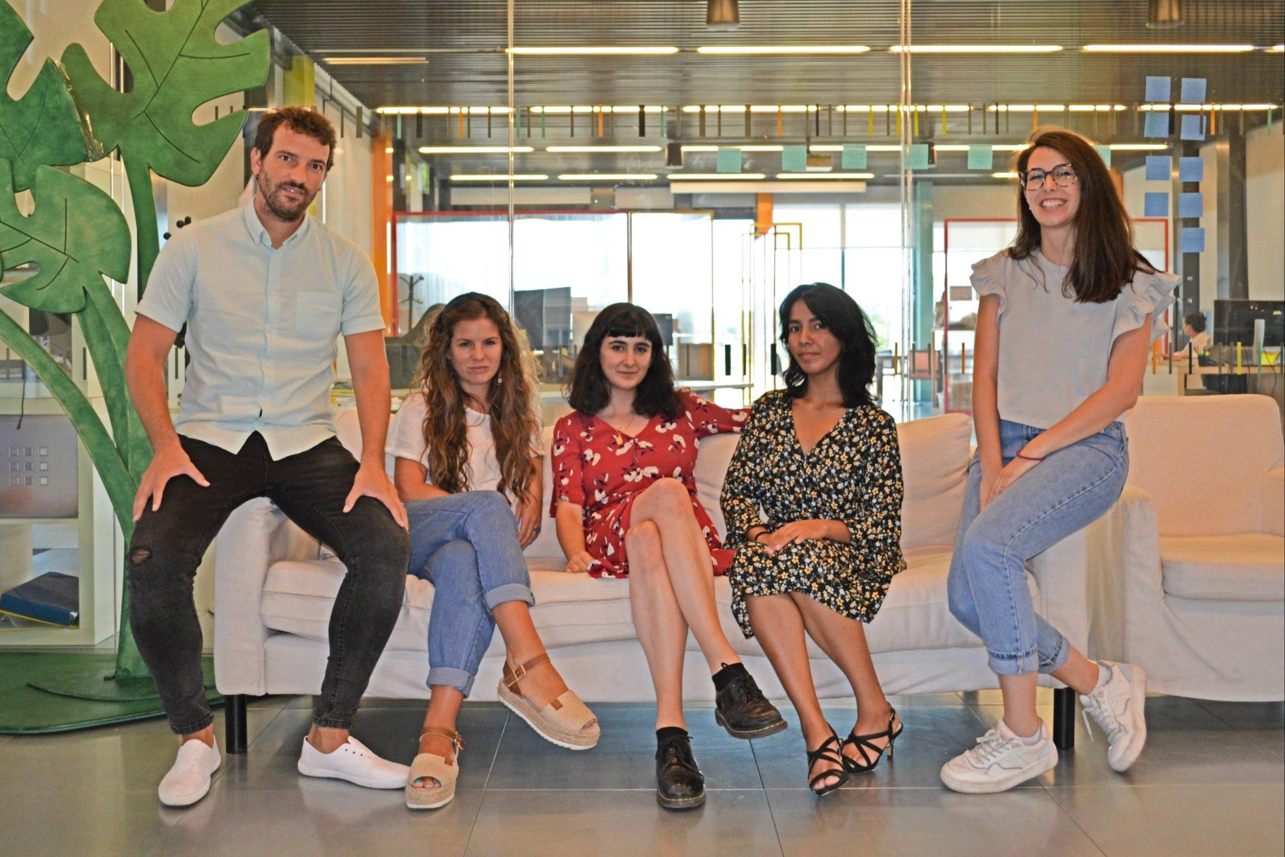 Equipo de la startup Cocopí Food.