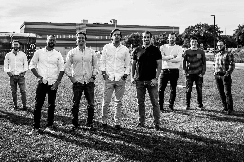 Imagen del equipo de la compañía valenciana Exponentia.