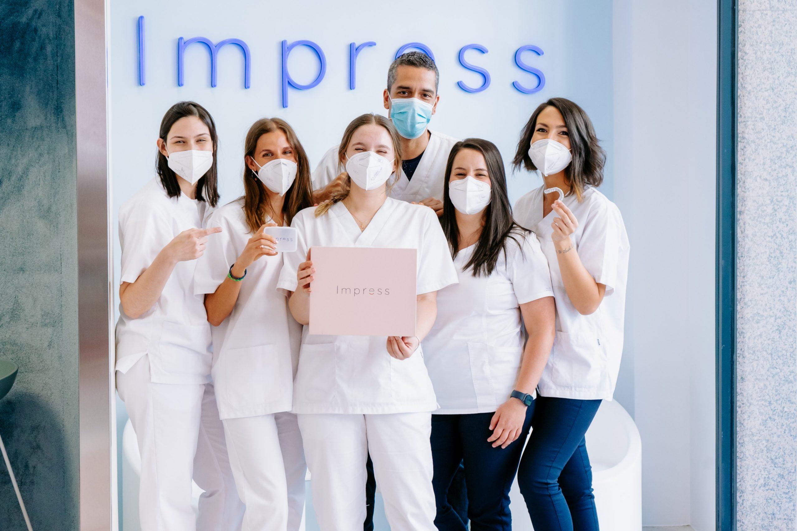 Impress cierra una ronda de financiación de 5 millones de euros con el objetivo de seguir revolucionando la ortodoncia invisible