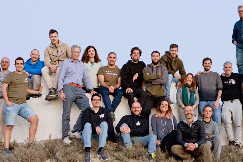 Equipo de la startup española de seguridad para apps IriusRisk.