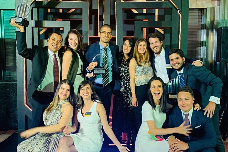 Equipo de la startup mexicana Kavak.