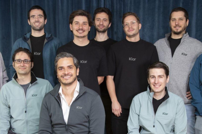 Imagen de parte del equipo del fintech mexicano Klar.