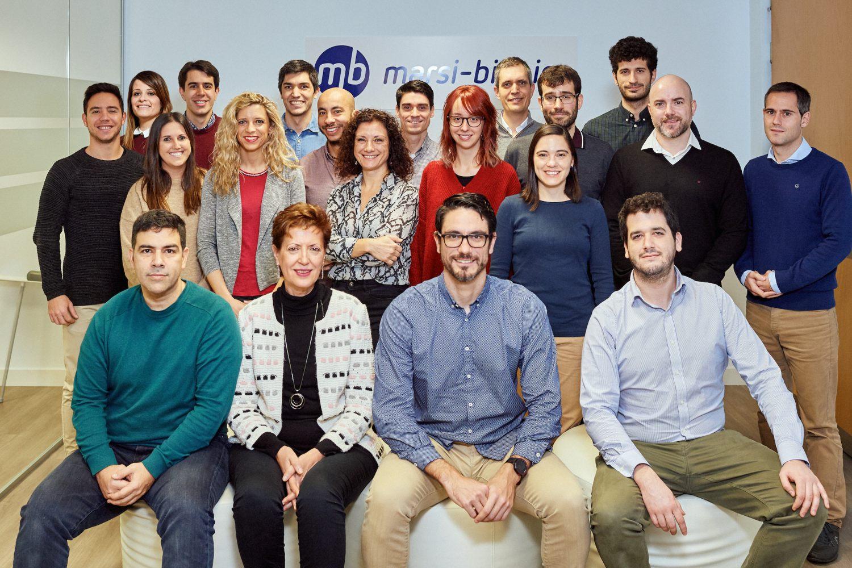 Imagen del equipo de la bitech Marsi Bionics.