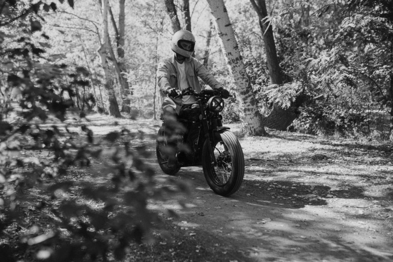 Motocicleta sostenible de la startup española OX Motorcycles.