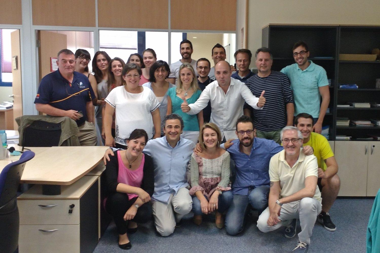 Equipo de la startups ehealth SaludOnNet.