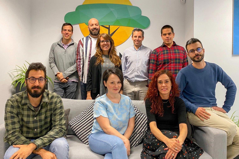 Equipo de la startup tecnológica de salud Savana.