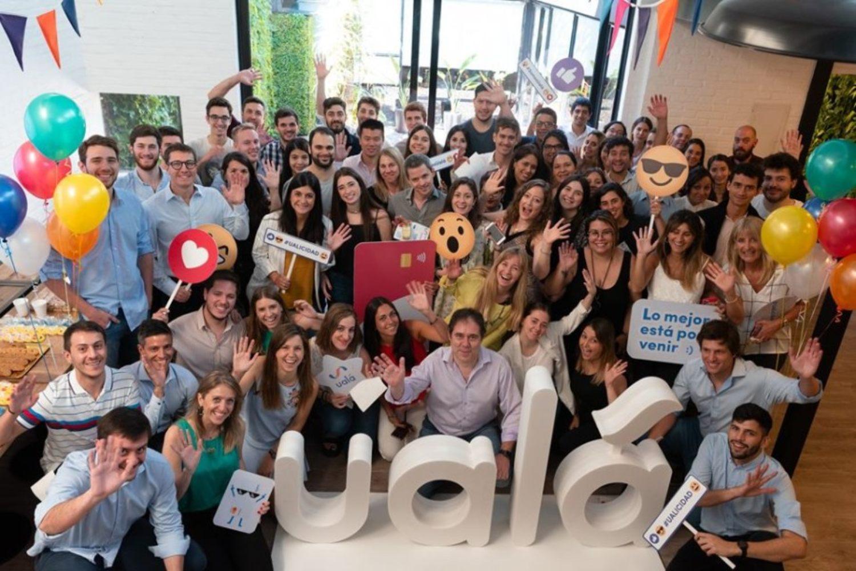 Imagen de equipo del fintech argentino Ualá.