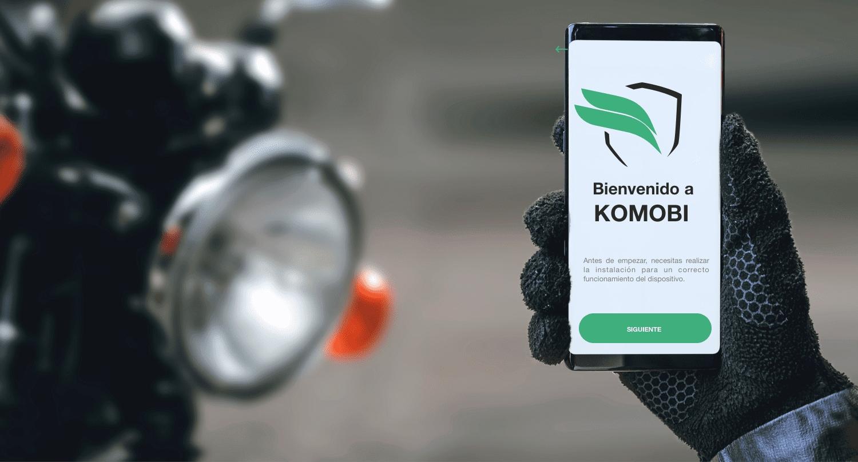 KOMOBI dispositivo inteligente antirrobo con GPS