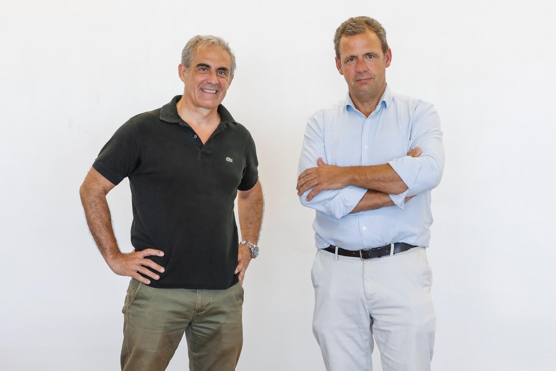 Fundadores de la startup española Ladorian.