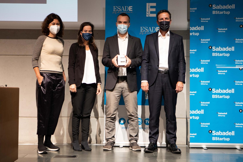 Pisous Premio a la Mejor Startup del Año,  por Esade Alumni y BStartup de Banco Sabadell