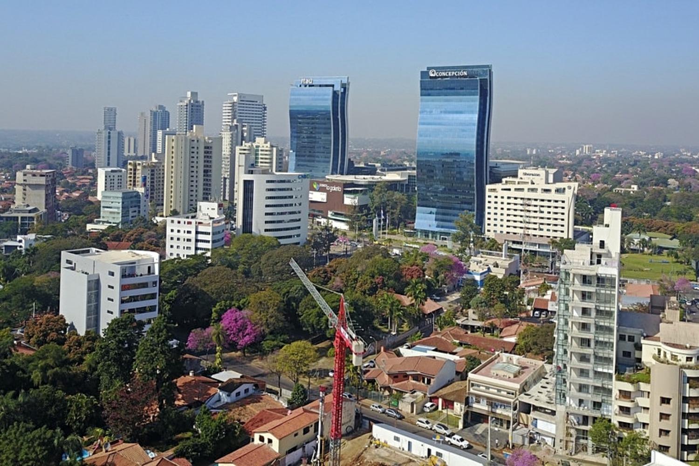Asunción, capital de Paraguay.
