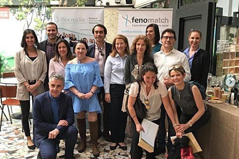 Equipo de la startup zaragozana Fenomatch.