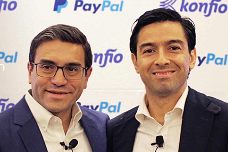 Directores del fintech mexicano Konfío.