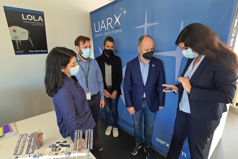 Imagen de la startup gallega UARX Space.