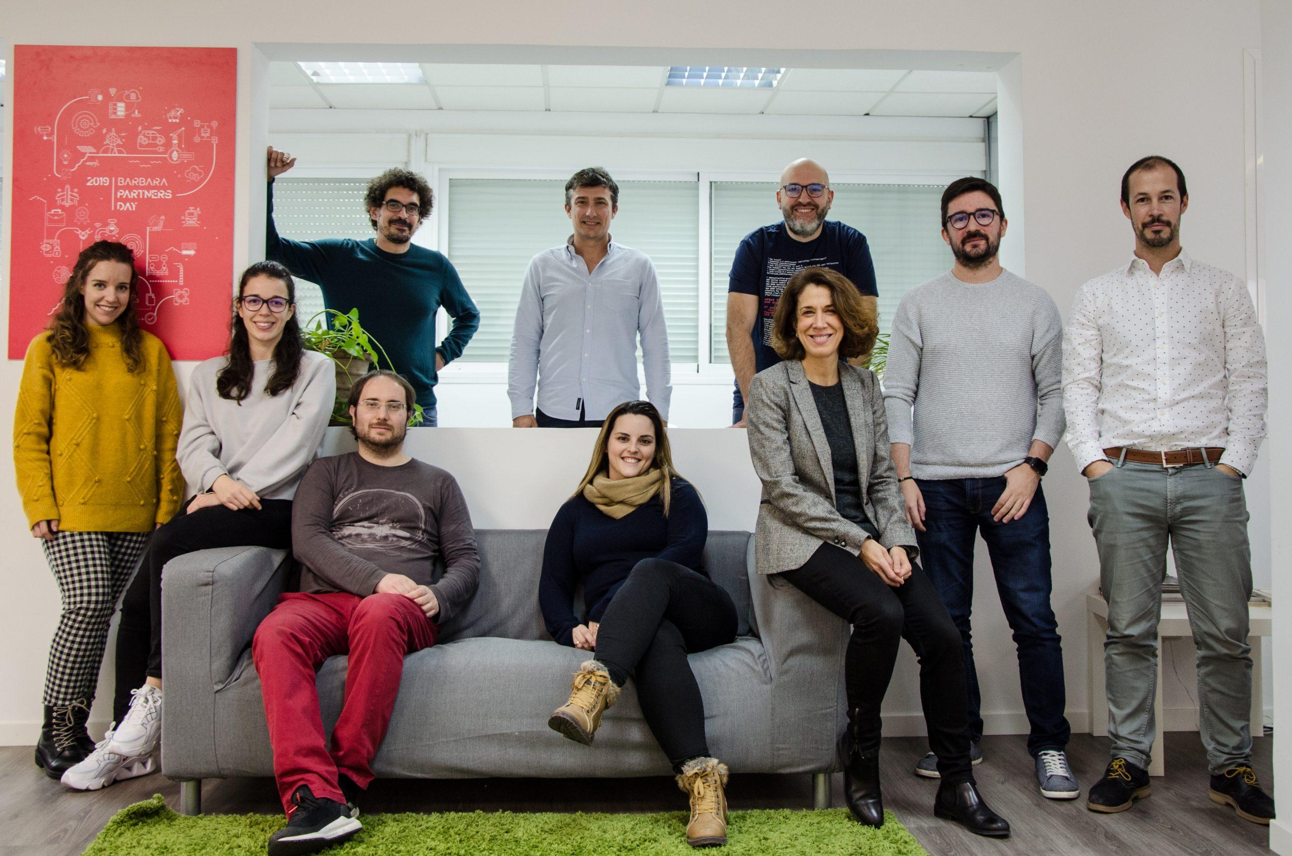 Barbara IoT cierra una ronda de inversión de 500.000 € liderada por GoHub Ventures