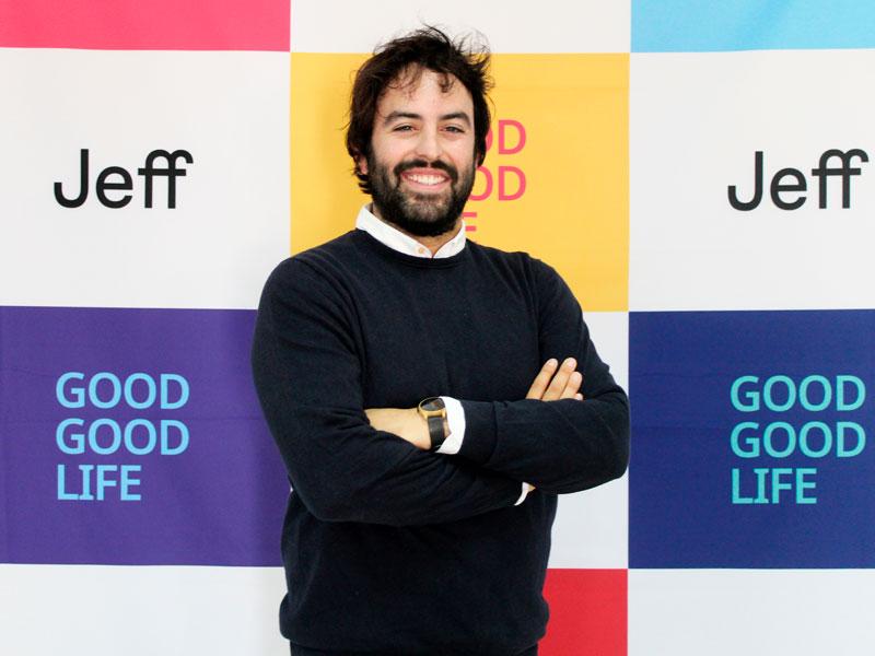 Eloi Gomez, CEO de Jeff