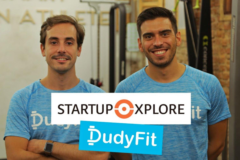 Mario Morante y Javier Ortega, fundadores de DudyFit.
