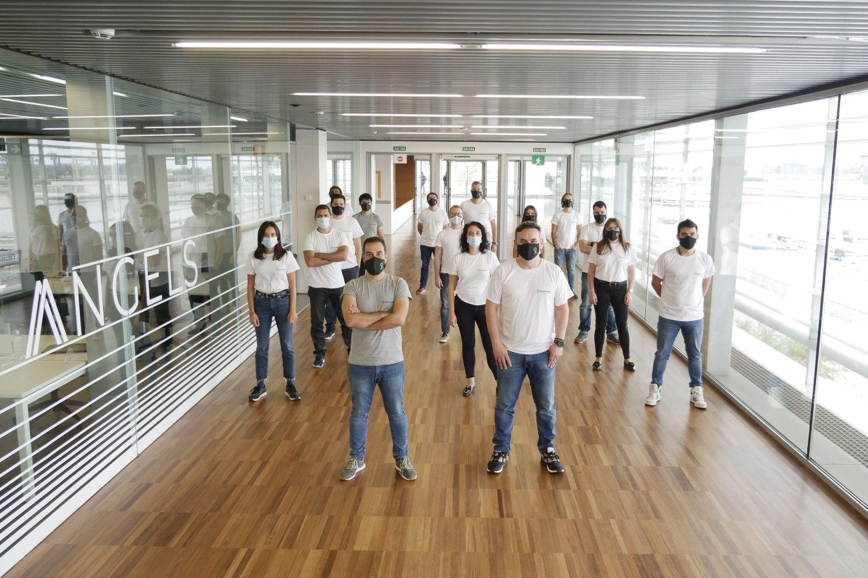 Imagen del equipo de la comercializadora de energía Gana Energía.