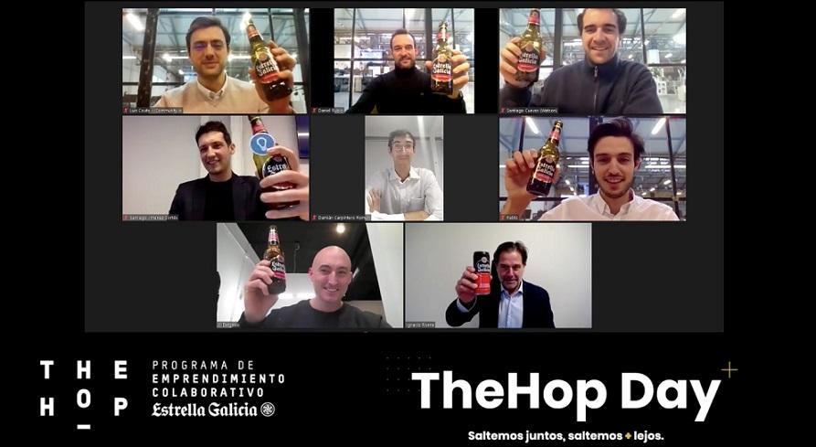 The Hop, el programa de aceleración de startups de Estrella Galicia, que clausura su segunda edición.