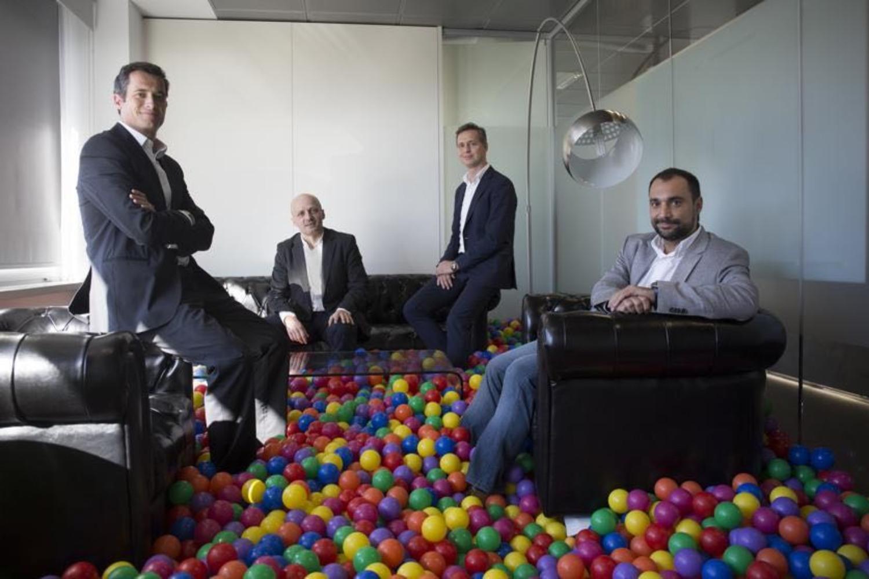 Marc Badosa, Marek Fodor, Javier Pérez-Tenessa y Jesús Monleón, socios de 4Founders Capital II.