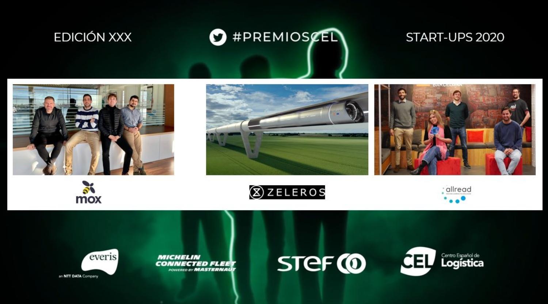 Mox, mejor startup de logística del año Premios CEL 2020