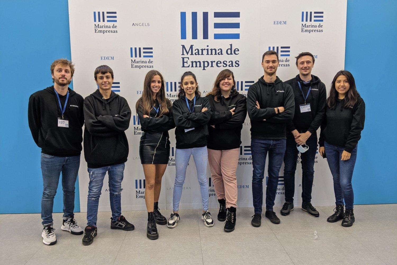 Equipo de la startup valenciana Internxt.