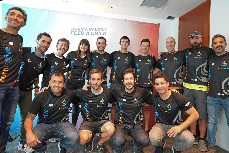 Equipo de la startup chilena Betterfly (anteriormente Burn to Give).