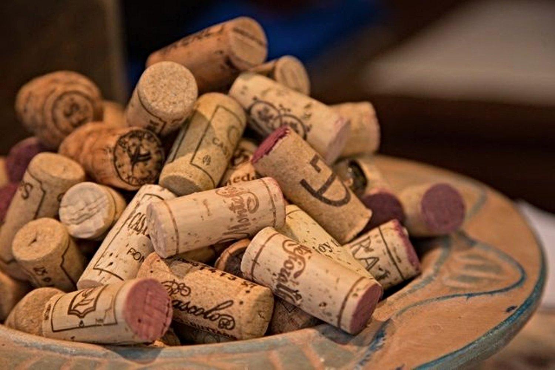 Corchos de botella diseñados por la empresa riojana Double Cork.